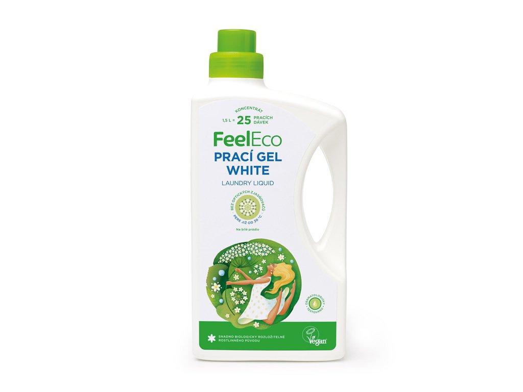 Feel Eco Prací gel White na bílé prádlo 1,5 L