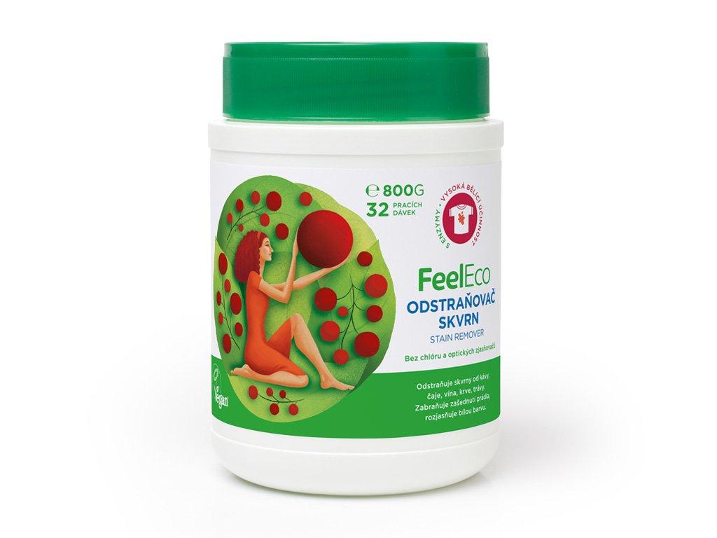 Feel Eco Odstraňovač skvrn a bělící prostředek 800 g