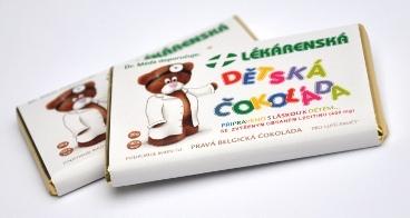 Chocopharm Dětská čokoláda od Dr. Médi 20 g