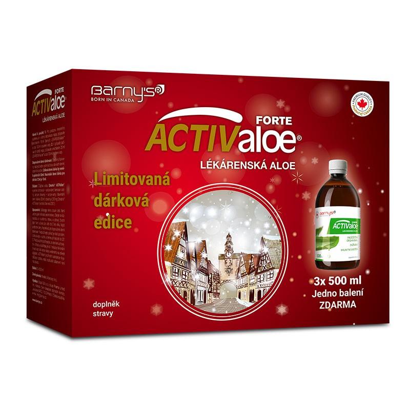 Barny´s ACTIValoe Lékárenská aloe 3x 500 ml
