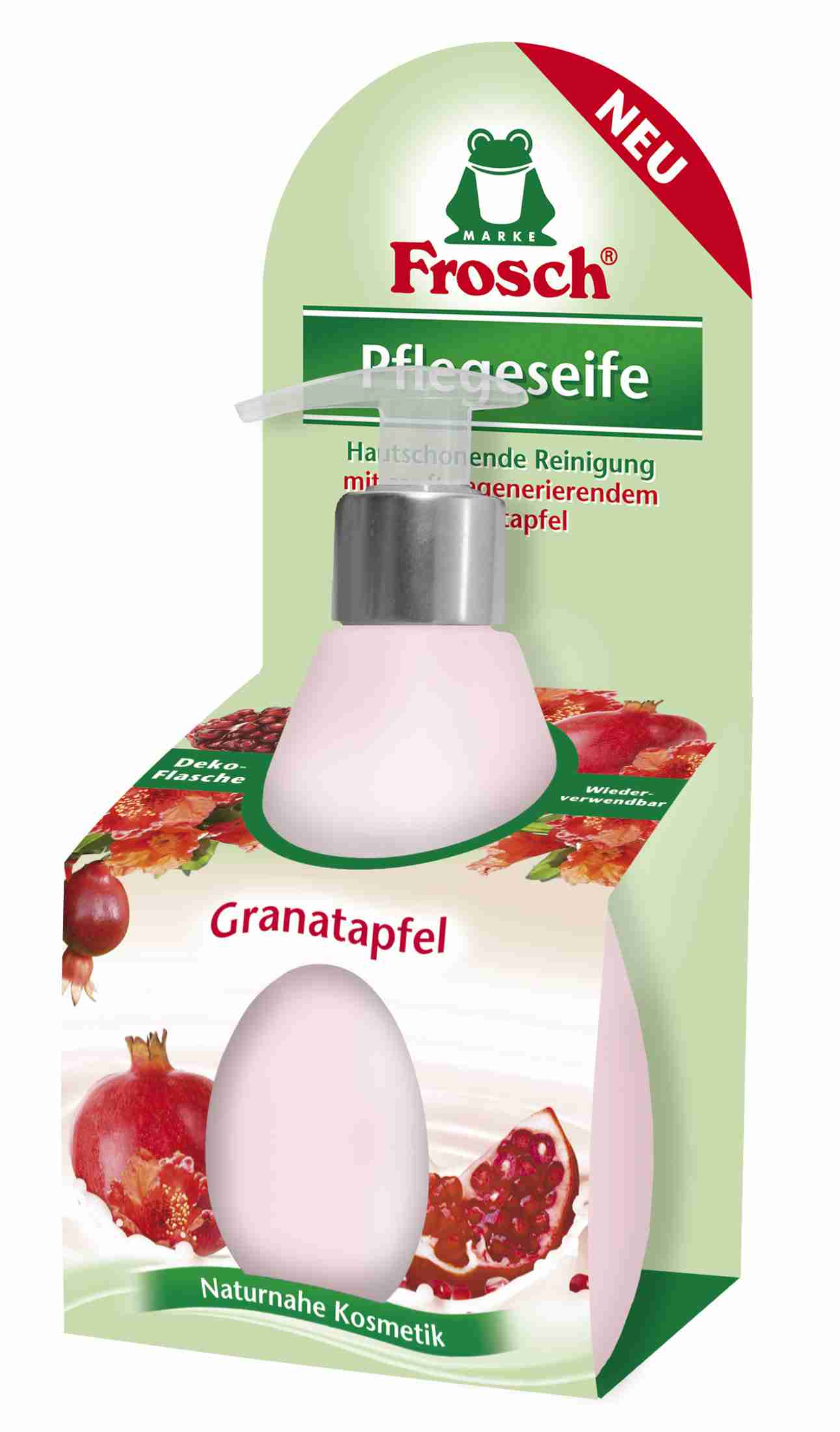 Frosch Tekuté mýdlo s granátovým jablkem v dávkovači 300 ml