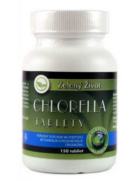 Zelený Život Chlorella 150 tbl.