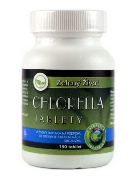 Benevit Zelený Život Chlorella 150 tbl.