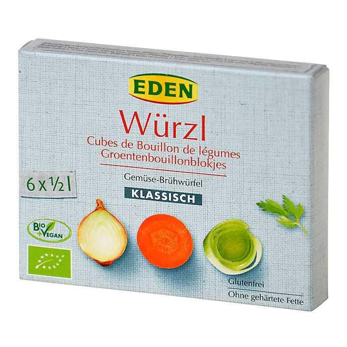 Eden Bio Wurzl zeleninový bujon kostky 66 g