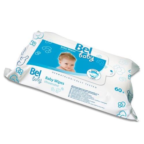 Hartmann Bel Vlhké utěrky Bel Baby (Baby Wipes) 60 ks