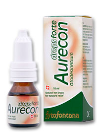 Herb Pharma Aurecon ušní kapky Forte 10 ml