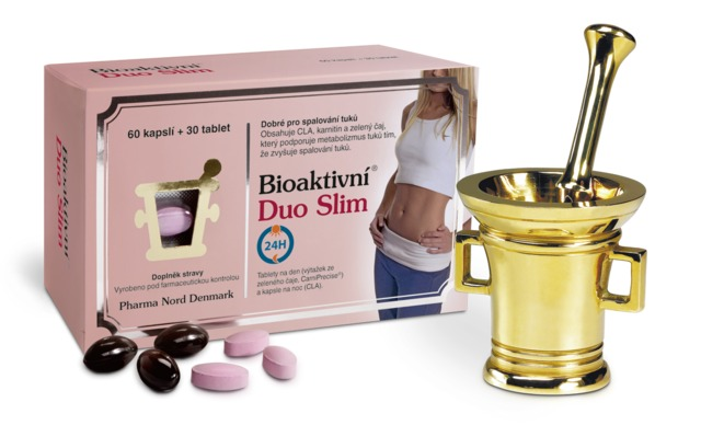 Pharma Nord Bioaktivní Duo Slim 60 kapslí + 30 tablet