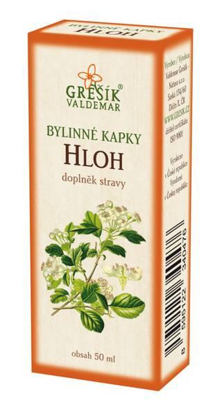 Grešík Hloh bylinné kapky 50 ml