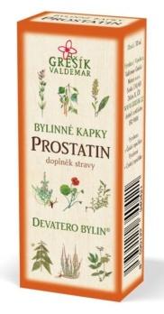 Grešík Prostatin bylinné kapky Devatero bylin 50 ml