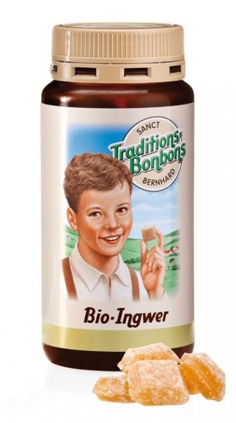 Sanct Bernhard Bio Zázvorové bonbóny 170 g