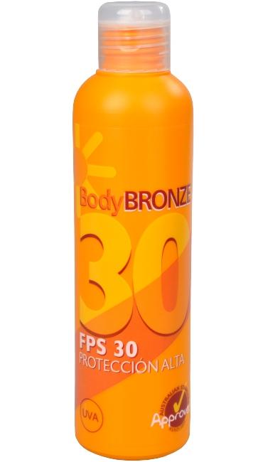 Dietesthetic Voděodolné opalovací mléko Body Bronze SPF 30 200 ml