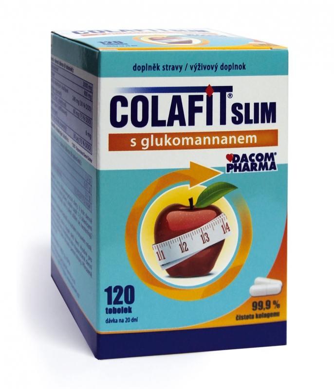 Dacom Pharma Colafit Slim s glukomannanem 120 tob.