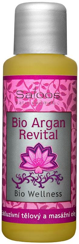 Saloos Bio Wellness Argan Revital - tělový a masážní olej 50 ml