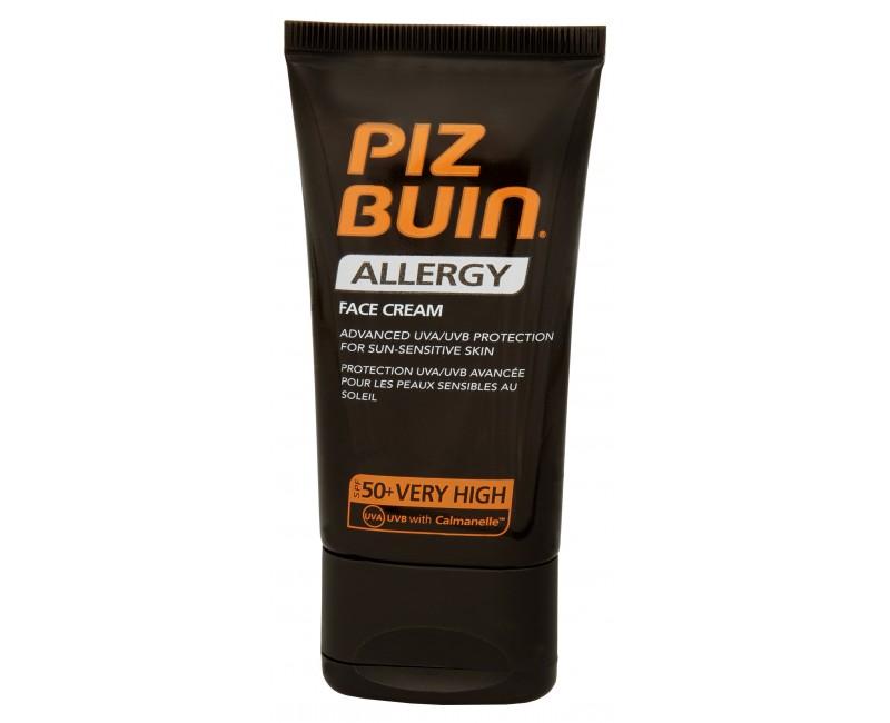 Piz Buin Krém na opalování na obličej SPF 50+ (Allergy Face Cream) 50 ml