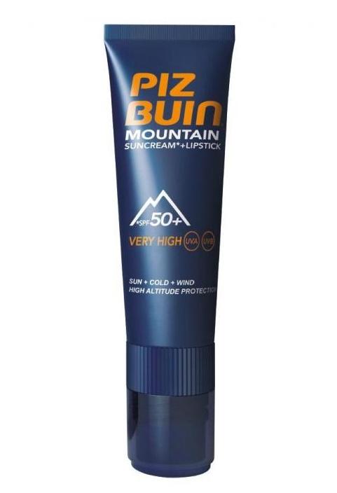 Piz Buin Sluneční krém SPF 50+ a ochranný balzám na rty SPF 30 2v1 20 ml + 2,3ml