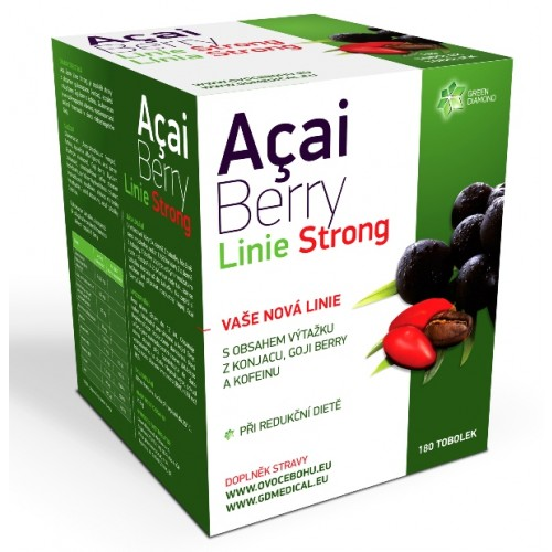 Green Diamond Medical GDM Acai berry Linie Strong 180 tob.