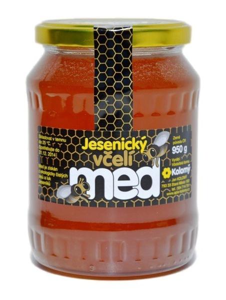 Kolomý Jesenický včelí med květový 950 g