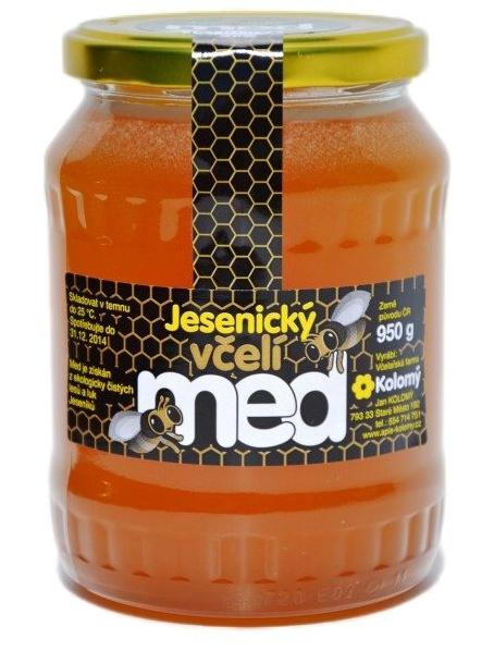 Kolomý Jesenický včelí med javorový 950 g