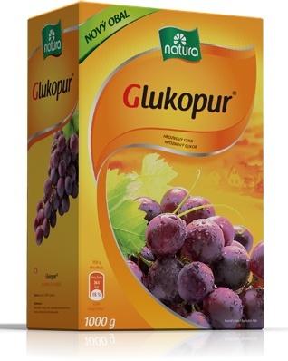 Naturamyl Natura Glukopur hroznový cukr 1000 g