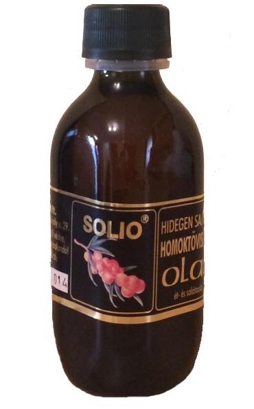 Solio Rakytníkový olej za studena lisovaný 100 ml