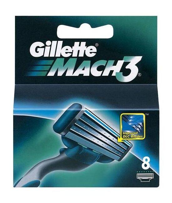 Gillette Náhradní hlavice Gillette Mach3 8 ks