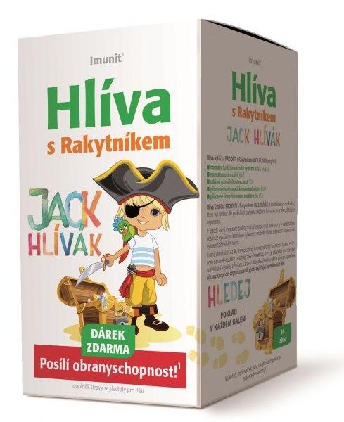 Simply You Imunit Hlíva ústřičná pro děti s rakytníkem Jack Hlívák 30 tbl.