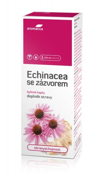 Aromatica Echinacea se zázvorem bylinné kapky 100 ml