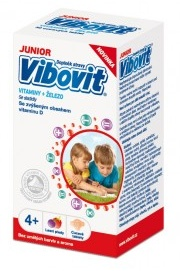 Vibovit Junior 4-7 let 30 cucavých tablet
