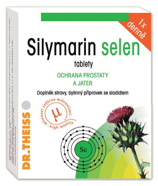 Favea Silymarin selen - 190 mg silymarinu 40 tbl.