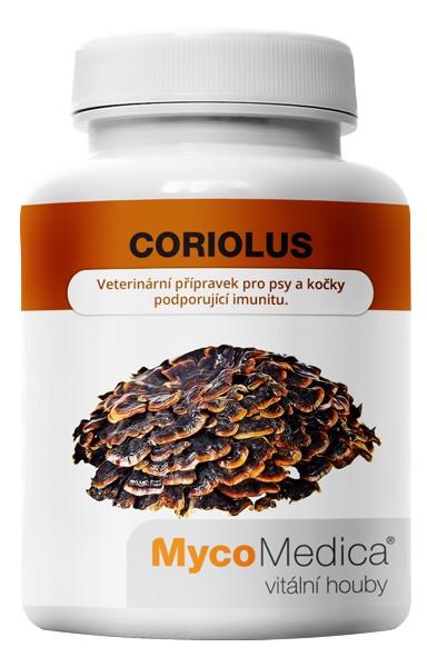 MycoMedica Coriolus 90 kapslí