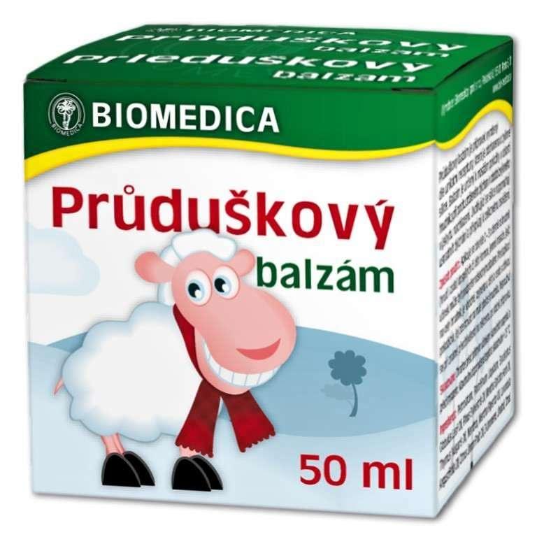 Biomedica Průduškový balzám 50 ml