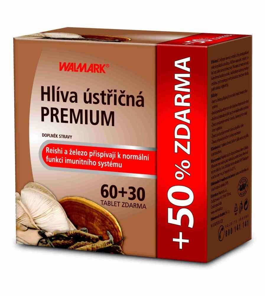 Walmark Hlíva ústřičná Premium 60 tbl. + 30 tbl. ZDARMA