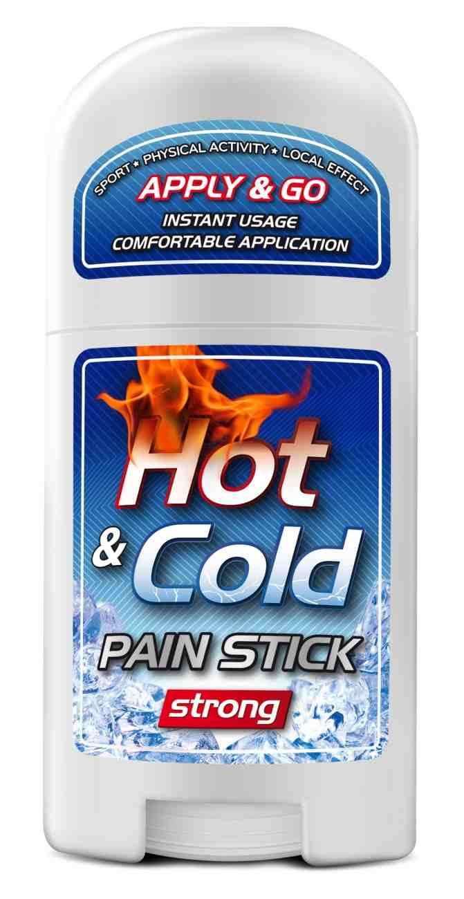 Pure Way Hot & Cold Pain stick strong 50 ml
