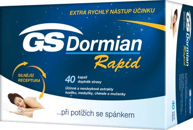 Green Swan GreenSwan GS Dormian Rapid 40 kapslí