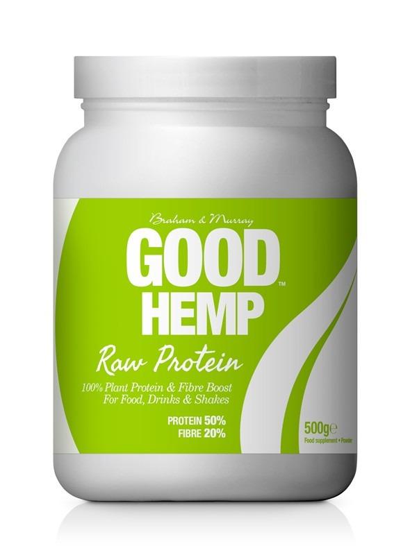 Good Hemp Raw Nativní konopný protein 500 g