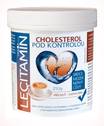 Oskar-salus Lecitamin lecitino-proteinový nápoj capuccino 250 g