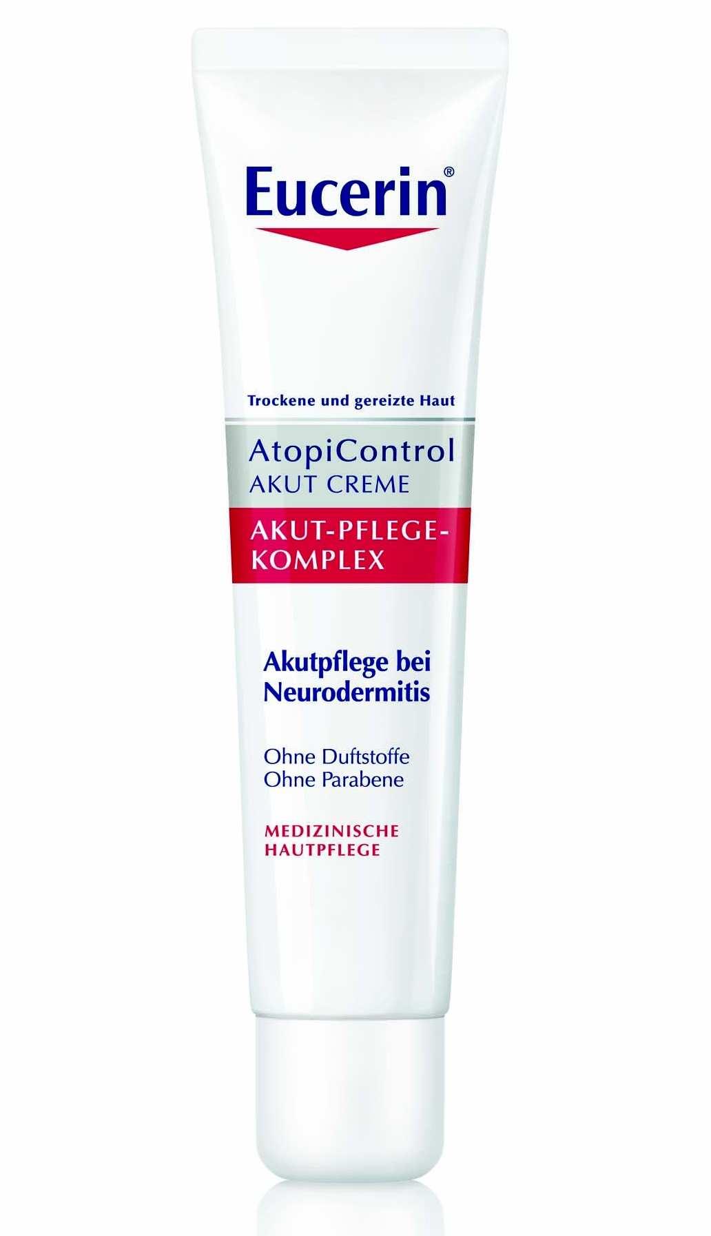 Eucerin AtopiControl Acute krém pro suchou, zarudlou a svědící pokožku 40 ml