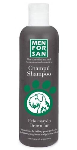 Menforsan Šampon zvýrazňující hnědou barvu pro psy 300 ml