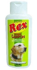 Paves Olomouc Paves Rex Bylinný šampon s antiparazitní přísadou pro psy 250 ml
