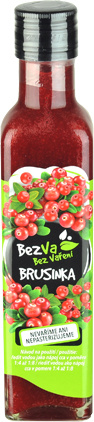 Madami Brusinkový sirup 67% 250 ml