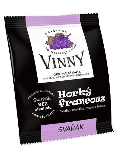 Topnatur Vinny - Horký francouz s příchutí hrušky Balení: 1 ks