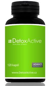 Advance DetoxActive - přírodní detoxikace 120 kapslí