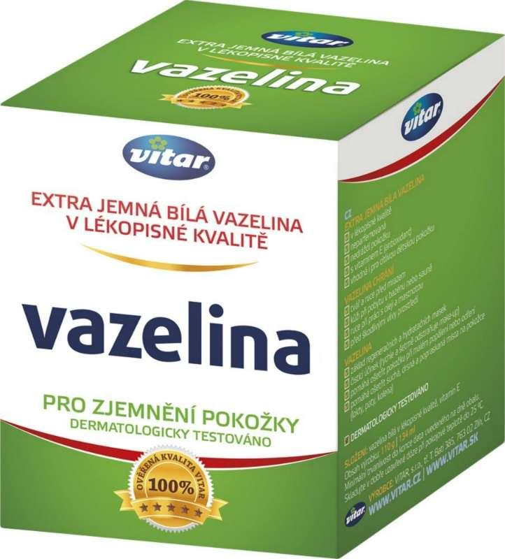 Vitar Vazelina lékařská pro zjemnění pokožky 110 g