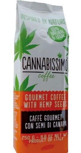 Gvm i.e. Monvitaly Káva Cannabissimo Coffee mletá 250 g