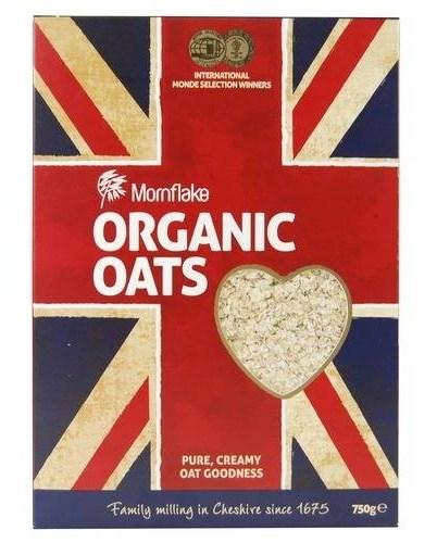 Mornflake BIO Ovesné vločky (Organic Oats) 750 g