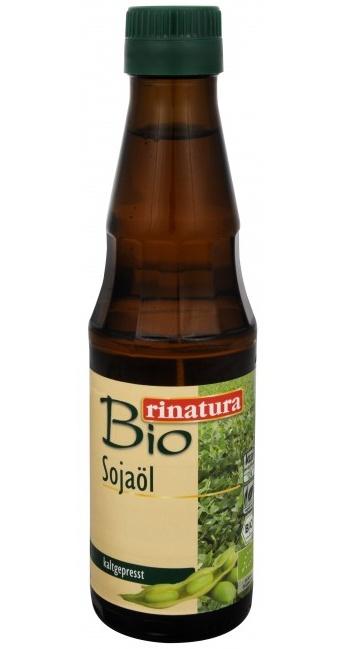 Rinatura Bio Olej sójový lisovaný za studena 250 ml