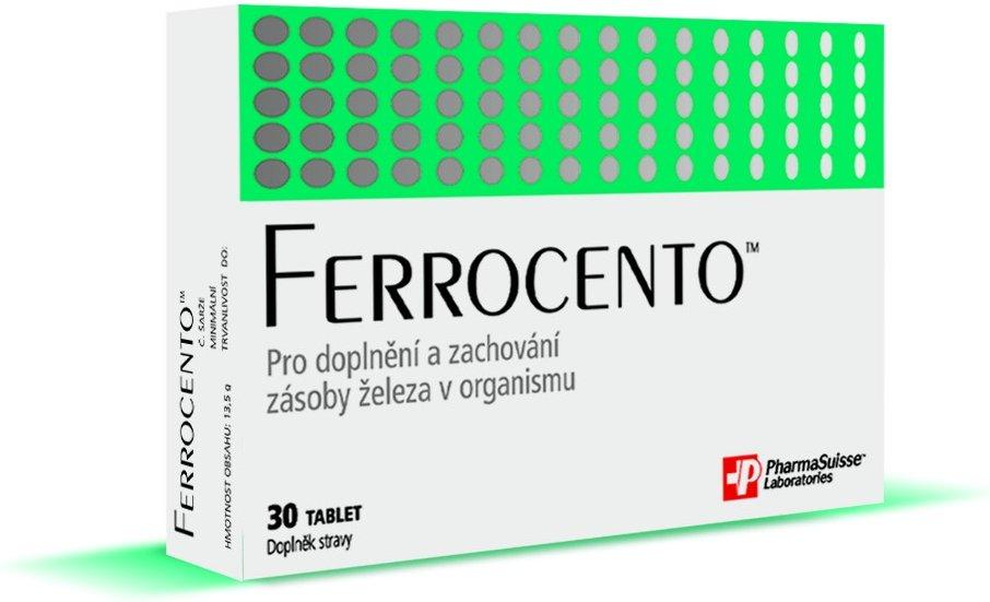 Pharmasuisse Laboratories PharmaSuisse Ferrocento 30 tbl.