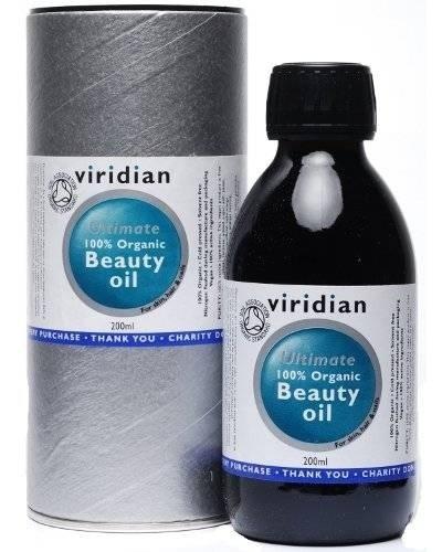 Viridian 100% Organic Beauty Oil 200 ml