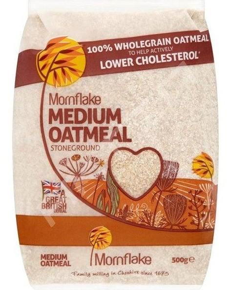 Mornflake Drcené ovesné vločky (Medium Oatmeal) 500 g