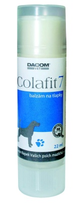 Dacom Pharma Colafit 7 Single balzám na tlapky 22 ml
